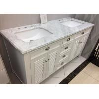 """Wholesale SGS Certificated Marble Vanity Tops With Under Type Sink , 22"""" X 60"""" Size from china suppliers"""