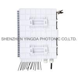 Quality Epon 16 Ports Fiber Optic Splitter Box For 1X16 PLC Splitter , Optical Fiber Junction Box for sale