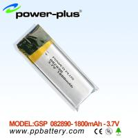 Wholesale li-polymer batteries 082890 1800mAh 3.7v from china suppliers