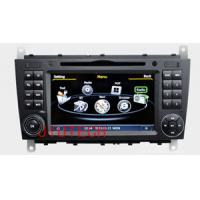 Wholesale 7'' Car DVD Stereo GPS Navigatio for Mercedes-Benz C-Class CLK W203 Auto Radio GPS Satnav from china suppliers