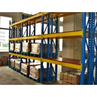 Wholesale Blue / Orange Multi Level Heavy Duty Pallet Racking With Cold Rolling Steel from china suppliers