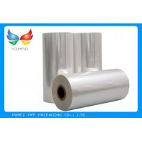 Wholesale 45mic Thermal Heat  PVC Shrink Film Rolls , Pvc Shrink Wrap Film For Plastic Bottle Label from china suppliers