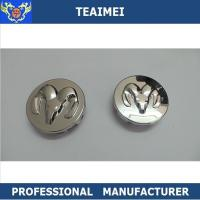 Buy cheap 55mm Dodge Logo Cap ABS Plastic Alloy Auto Wheel Center Caps With Chrome Finish from wholesalers