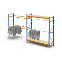 Wholesale Steel Adjustable Light Duty Storage Rack / Commercial Pallet Racking For Clothes from china suppliers