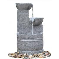 Wholesale Granite Color 3 Tier Outdoor Water Fountains CE / GS / TUV / UL Approved from china suppliers