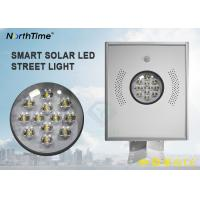Wholesale 5 Years Warranty Solar Led Powered Street Lights All in One Design With Lithium Battery from china suppliers