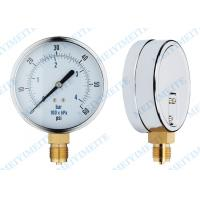 Wholesale 30HG-0-15000PSI Oil , gas , water and Air Pressure Gauges with tube and movement from china suppliers