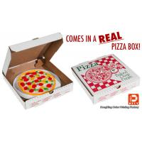 Quality Recyclable Corrugated Cardboard Packaging Pizza Boxes Personalized Pantone Color for sale