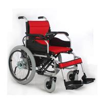 Wholesale Simple Indoor Electric Wheelchair Foldable 6 km/h Max Speed JRWD301 Plus from china suppliers