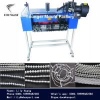 Buy cheap plastic roller blinds curtains ball chain making machine from wholesalers