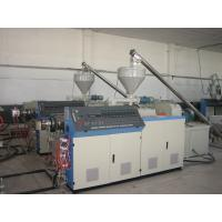 Wholesale PVC Sheet / Pipe Conical Double Screw Extruder For Extruding And Forming Pvc Pipe from china suppliers