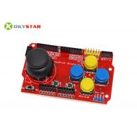 Wholesale Red Game Joystick Shield V1.A Expansion Arduino Controller Board For Electronic Robotics Project from china suppliers