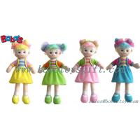 Wholesale Lovely Fashion Plush Stuffed Girl Doll Toy With Dress from china suppliers