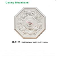 Wholesale High quality pu ceiling medallion low cost M-7126 marbel replacement from china suppliers