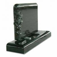 Buy cheap Black Granite Monument,Gravestone,Tombstone,Headstone from wholesalers