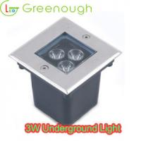 Wholesale Mini LED Inground Light/ LED Deck Light/Recessed LED Garden Light GNH-UG-3X1W-S-B from china suppliers