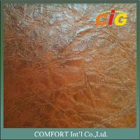 Wholesale CIGT850 Print Design artificial leather material 0.8mm / 1.0mm Thick Auto Seat Use from china suppliers