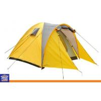 Wholesale Waterproof  Triple / Double Layer Family Camping Tents Yellow or Customized Color from china suppliers