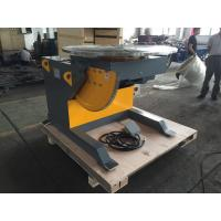 Wholesale 5 Ton Rotary Welding Positioners With 3kw Tilting Motor , 0.14 Rpm Tilting Speed from china suppliers