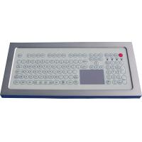 Wholesale USB Industrial Membrane Desktop Keyboard  , Compact Keyboard With Touchpad from china suppliers