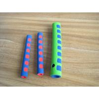 Wholesale Heat Insulation Colorful Silicone Foam Tube , Protective Sleeve Padding Material Foam from china suppliers