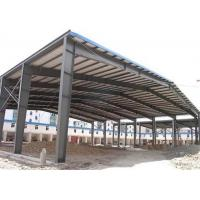 China Low price galvanized steel structure prefabricated warehouse with frame use life 50 years on sale