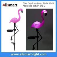 Wholesale Pink Flamingo Solar Stake Light Solar Garden Decor Lights Solar Path Lights from china suppliers
