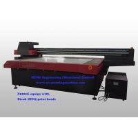 Buy cheap Wide Format 3200 x 2200 mm Flatbed UV Printer Machine With Vcuuming Platform from wholesalers