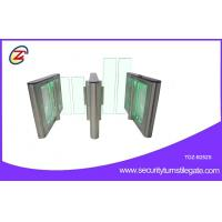 Wholesale Pedestrian waist height Fast Speed Gate Turnstile entrance Green LED Light from china suppliers