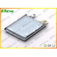 Wholesale Polymer 3.7V Rechargeable Lithium Batteries / 500 Mah 503040 Thin Lithium Polymer Battery  from china suppliers