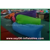 Wholesale Nylon Fabric Inflatable Sleeping Bag Lazy Air Couch for Outdoor from china suppliers