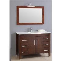 Wholesale Classical Single Sinks Wooden Bathroom Vanity (BL-S8091) from china suppliers