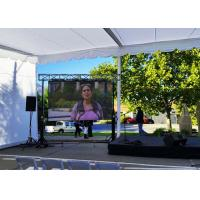 Wholesale Waterproof LED Display Flexible Video Screen , P 7.8mm Outdoor LED Advertising Screens from china suppliers