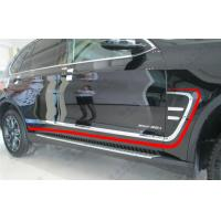 Wholesale BMW New X5 2014 F15 Chromed Auto Decoration Parts , Fender Garnish and Side Molding from china suppliers