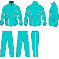 Wholesale Bule Baskeball Opened Jacket Pocket Children - Adult Heat Transfer Printing Tracksuits from china suppliers