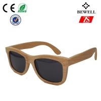 Wholesale Anti - ultraviolet Wood Frame Sunglasses For Face Shapes In Party from china suppliers