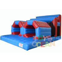 Wholesale Extreme Rush Inflatable Obstacle Course With Crawling Tube Sports Waterproof from china suppliers