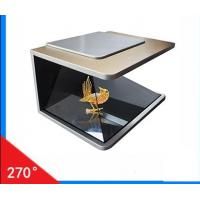 Buy cheap glass wall display 3D Holographic Transparent Screen from wholesalers