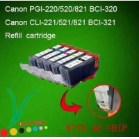 Wholesale Canon 520/521 refilled ink cartridge with ARC from china suppliers