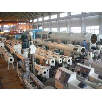 Wholesale CE Certified HDPE Pipe Extrusion Machine With Low Power Consumption from china suppliers