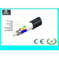 Single Jacket All Dielectric Outdoor Stranded Loose Tube Cable Non armored fiber optic cable
