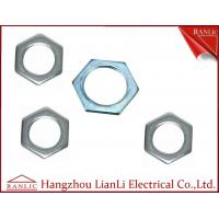Wholesale 20mm to 50mm Hot Dip Gal GI Hexagon Locknut 3.0mm to 6.0mm Thickness from china suppliers