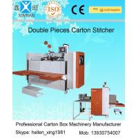 Wholesale Single / Double Nails Carton Stapler , Carton Stitching Machine with 4 Servo Motors from china suppliers