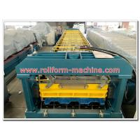 Buy cheap Galvanized Zinc Steel Floor Decking Panel Making Machine with Fast Speed, High Quality from wholesalers
