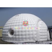 Wholesale Sealed Type Dome inflatable Igloo / Bubble Tent For Wedding Rental from china suppliers