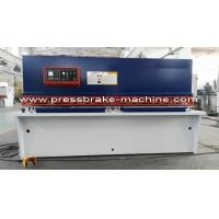 Wholesale Steel CNC Hydraulic Shearing Machine / Hydraulic Sheet Metal Shear from china suppliers