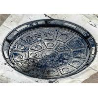 Wholesale Municipal Roads Round Inspection Cover , Concrete Steel Manhole Cover from china suppliers