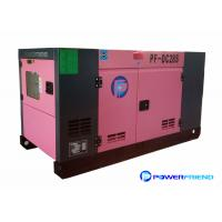 Wholesale 25kva Super Silent Generator Set By Cummins / FAWDE / Racardo Diesel Engine from china suppliers