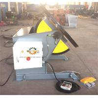 Wholesale Tilting Rotary Welding Positioner With Slew Bearing 1200KG Loading 1200mm Table from china suppliers