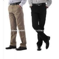 Wholesale Mens Casual Wrinkle-Free Cotton Pants from china suppliers